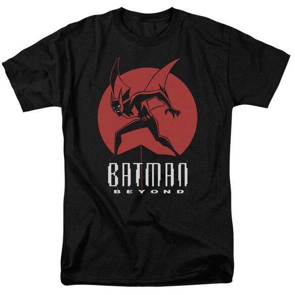 Batman Beyond Perched Short Sleeve Adult Black T-Shirt