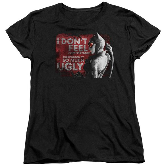 Arkham City So Much Ugly Short Sleeve Womens Tee T-Shirt