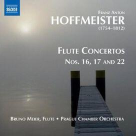 Bruno Meier / Prague Chamber Orchestra - Franz Anton Hoffmeister: Flute Concertos, Vol. 2