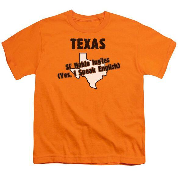 Texas Short Sleeve Youth T-Shirt