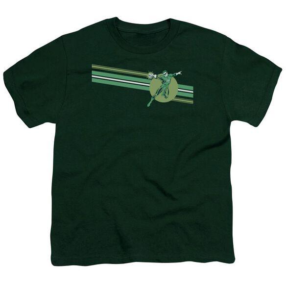 Dc Lantern Stripe Short Sleeve Youth Hunter T-Shirt