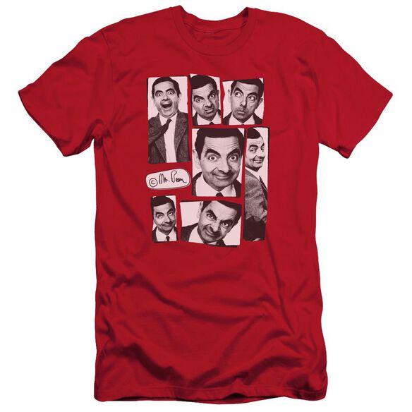 Mr Bean Boxed Beans Short Sleeve Adult T-Shirt
