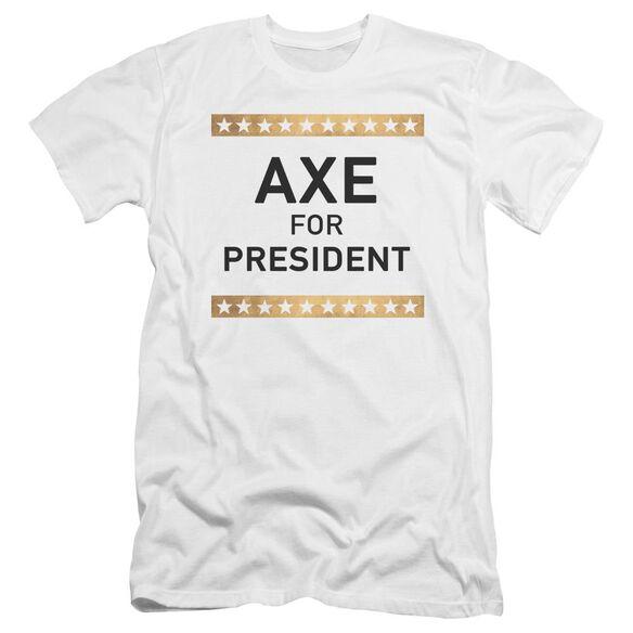 Billions Axe For President Hbo Short Sleeve Adult T-Shirt
