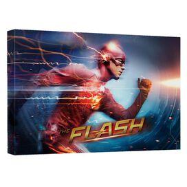 The Flash Fastest Man Quickpro Artwrap Back Board