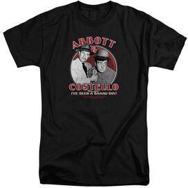 Abbott & Costello Bad Boy Short Sleeve Adult Tall T-Shirt