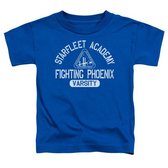 Star Trek Varsity Short Sleeve Toddler Tee Royal Blue Md T-Shirt