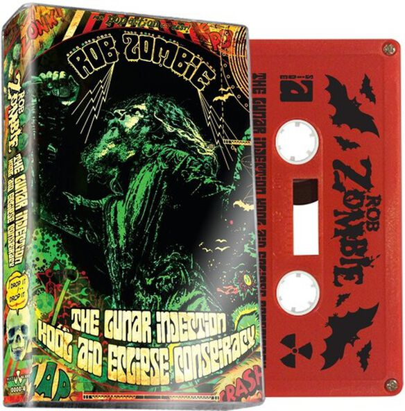 Rob Zombie - The Lunar Injection Kool Aid Eclipse Conspiracy (Red)