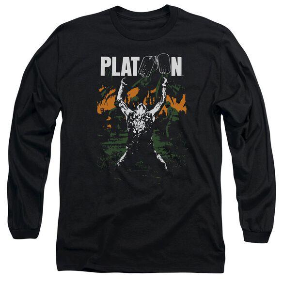 Platoon Graphic Long Sleeve Adult T-Shirt