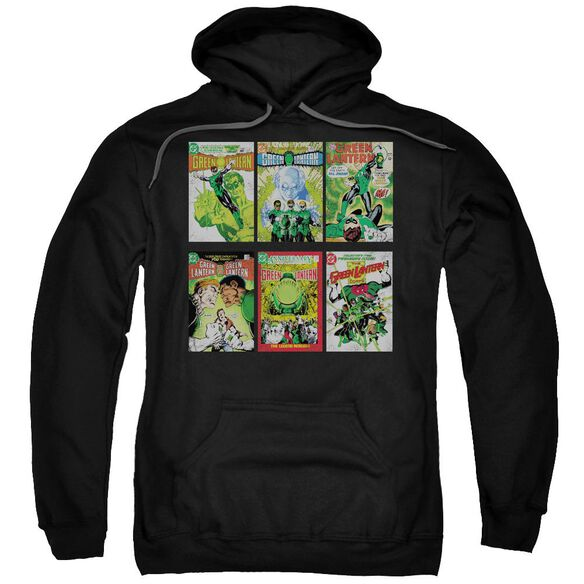 Green Lantern Gl Covers Adult Pull Over Hoodie