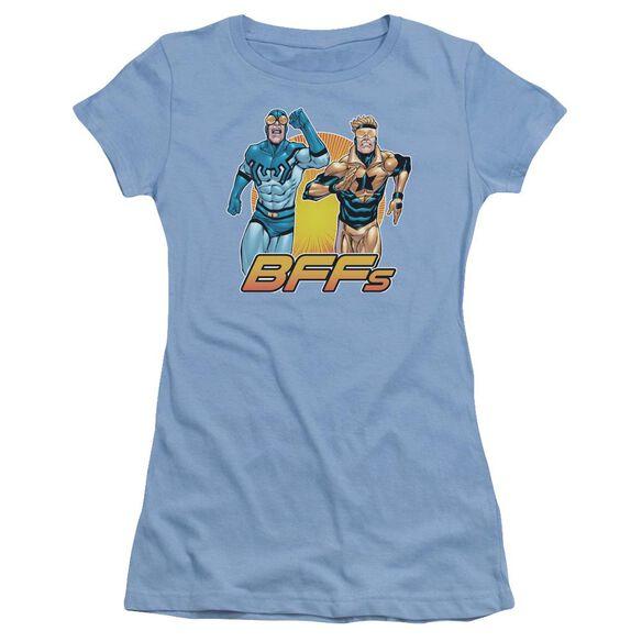 Jla Booster Beetle Bff Short Sleeve Junior Sheer Carolina T-Shirt