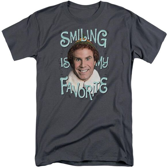Elf Smiling Short Sleeve Adult Tall T-Shirt