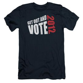 GET OUT AND VOTE - ADULT 30/1 - NAVY T-Shirt