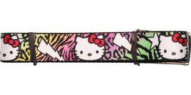 Hello Kitty Faces Stars Animal Print Mesh Belt