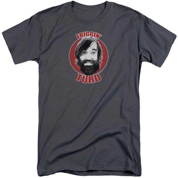 Last Man On Earth Friggin Turd Short Sleeve Adult Tall T-Shirt