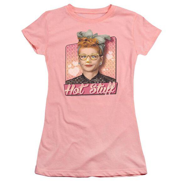 I Love Lucy Hot Stuff Premium Bella Junior Sheer Jersey