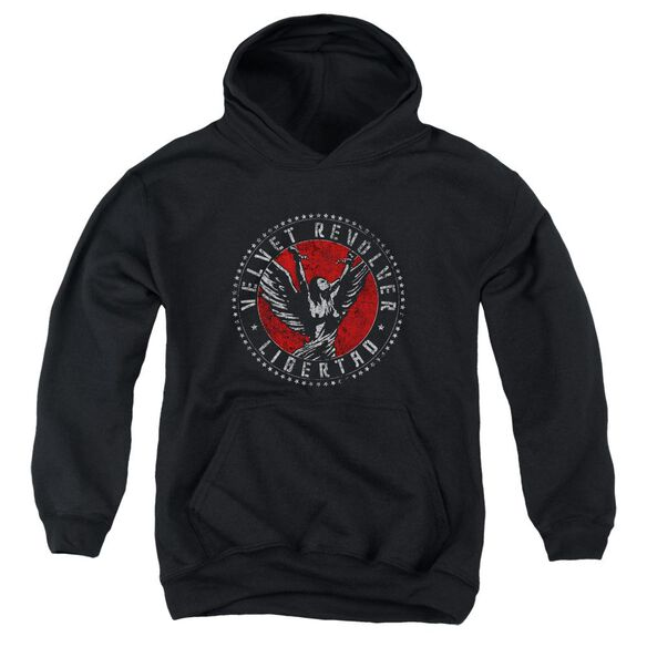 Velvet Revolver Circle Logo Youth Pull Over Hoodie