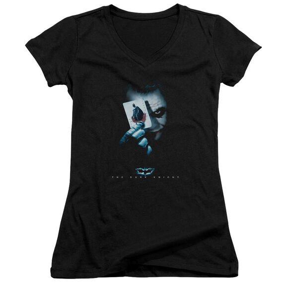 Dark Knight Joker Junior V Neck T-Shirt