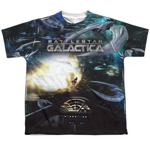 Bsg (New) Battle Seat Short Sleeve Youth Poly Crew T-Shirt