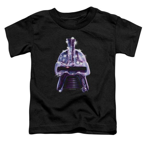 Bsg Retro Cylon Head Short Sleeve Toddler Tee Black T-Shirt