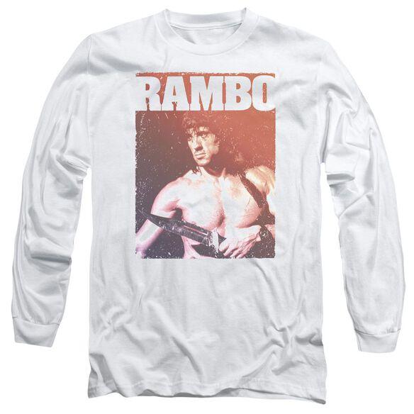 Rambo Iii Creep Long Sleeve Adult T-Shirt
