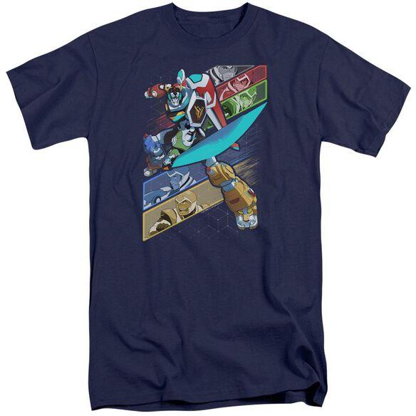 Voltron Crisscross Short Sleeve Adult Tall T-Shirt