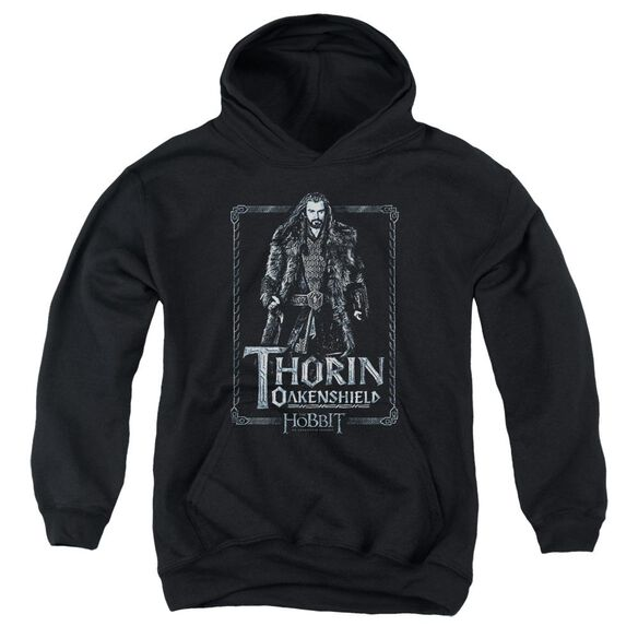 The Hobbit Thorin Stare Youth Pull Over Hoodie