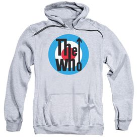 The Who Logo Adult Pull Over Hoodie Athletic
