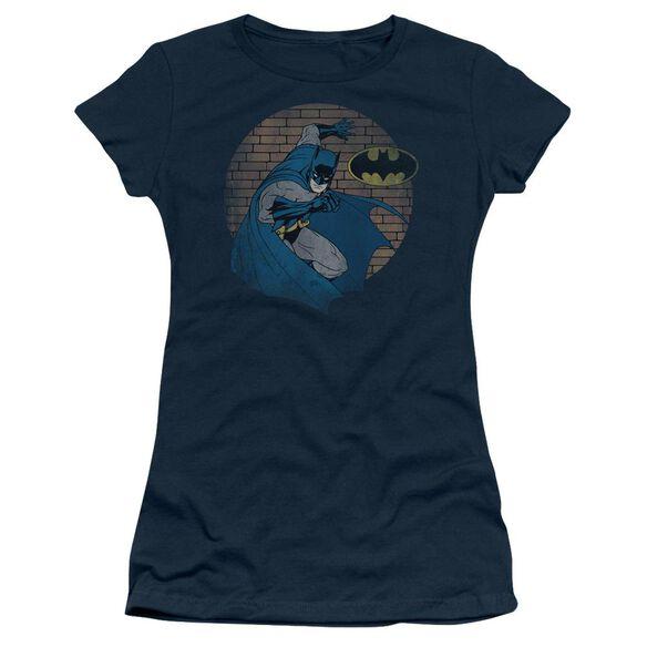 Batman In The Spotlight Short Sleeve Junior Sheer T-Shirt
