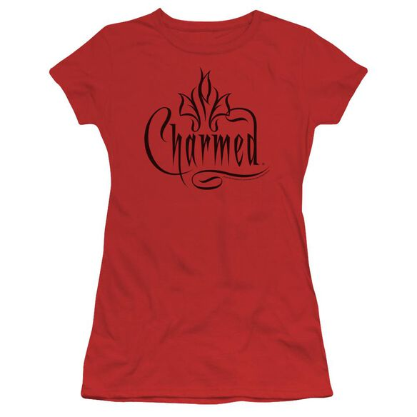 Charmed Charmed Logo Short Sleeve Junior Sheer T-Shirt