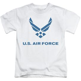 Air Force Distressed Logo Short Sleeve Juvenile T-Shirt