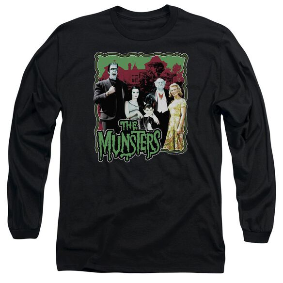 The Munsters Normal Family Long Sleeve Adult T-Shirt