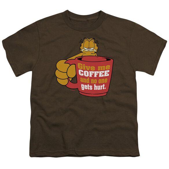 GARFIELD GIVE ME COFFEE-S/S T-Shirt