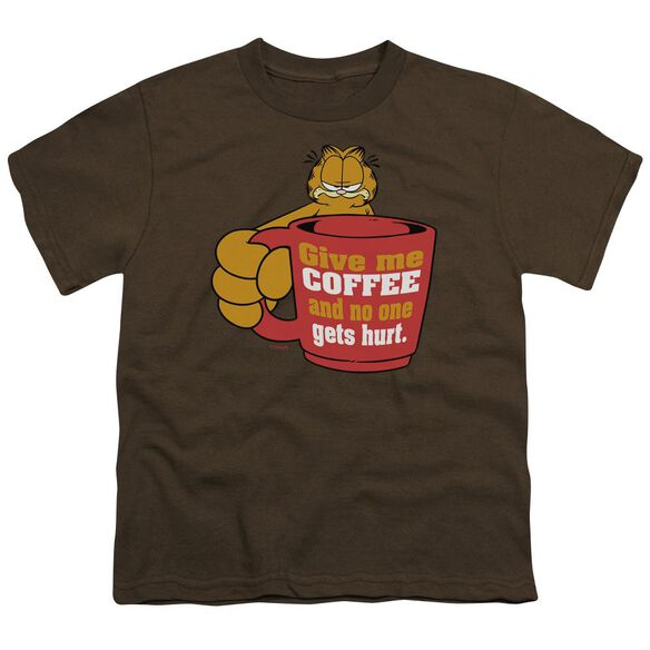 Garfield Give Me Short Sleeve Youth T-Shirt