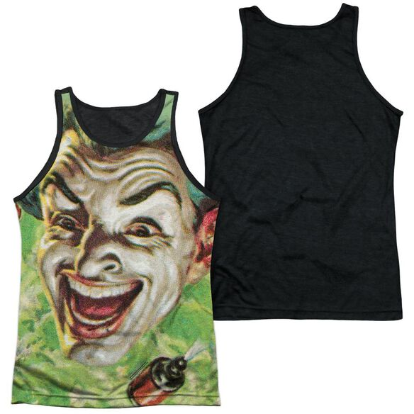 Batman Classic Tv Laugh Gas Adult Poly Tank Top Black Back