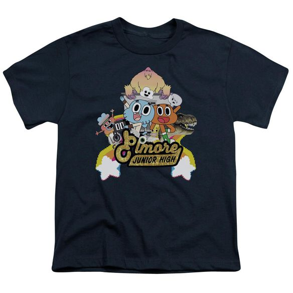 Amazing World Of Gumball Elmore Junior High Short Sleeve Youth T-Shirt