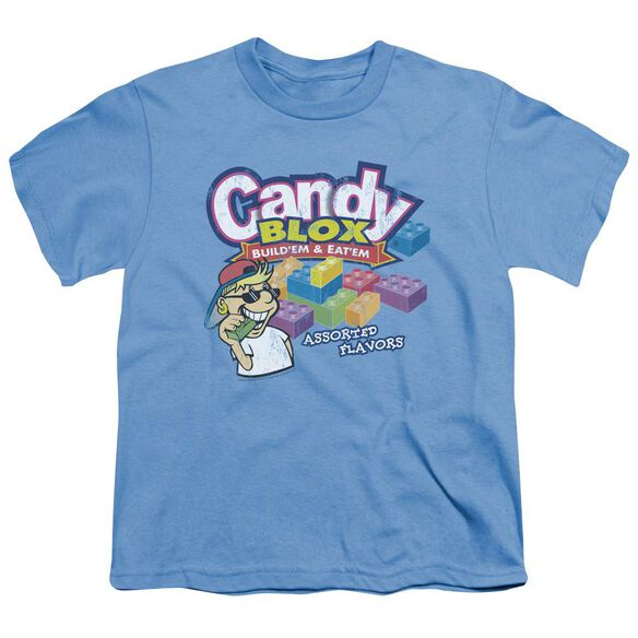 Dubble Bubble Candy Blox Short Sleeve Youth Carolina T-Shirt