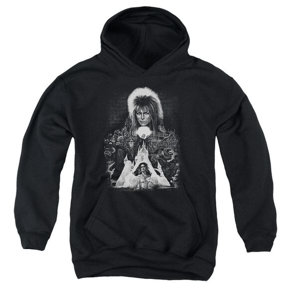 Labyrinth Castle Youth Pull Over Hoodie