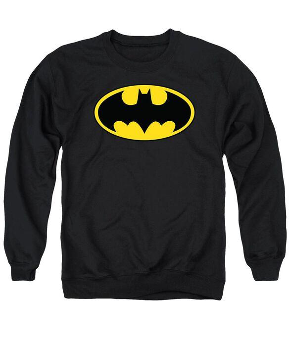 Batman Classic Logo Adult Crewneck Sweatshirt