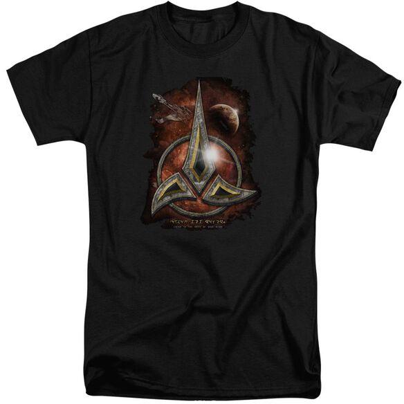 Star Trek Klingon Crest Short Sleeve Adult Tall T-Shirt