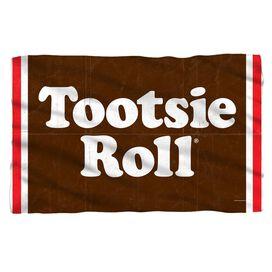 Tootsie Roll Wrapper Fleece Blanket