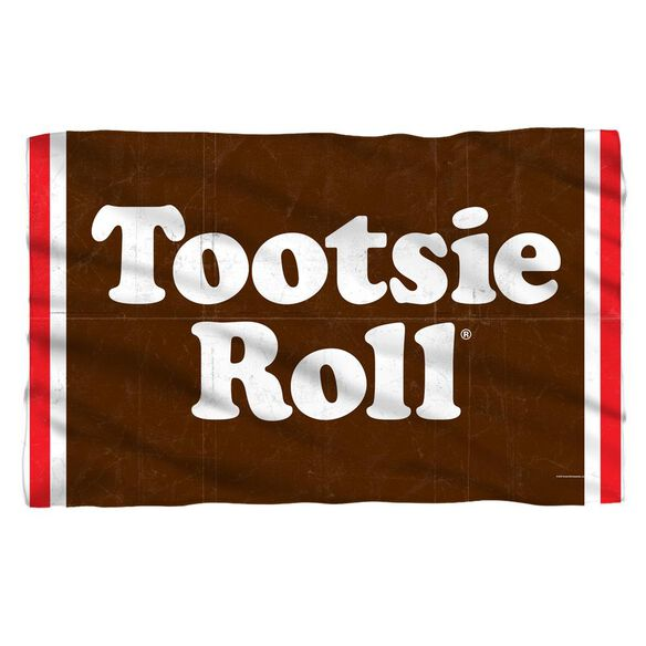Tootsie Roll Wrapper Fleece Blanket