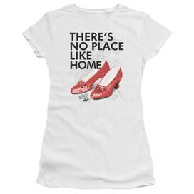 Wizard Of Oz No Place Like Home Short Sleeve Junior Sheer T-Shirt