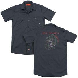 Deep Purple The Battle Rages On (Back Print) Adult Work Shirt