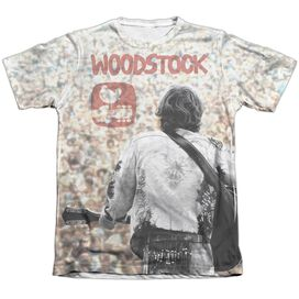 Woodstock Apart From The Crowd Adult Poly Cotton Short Sleeve Tee T-Shirt