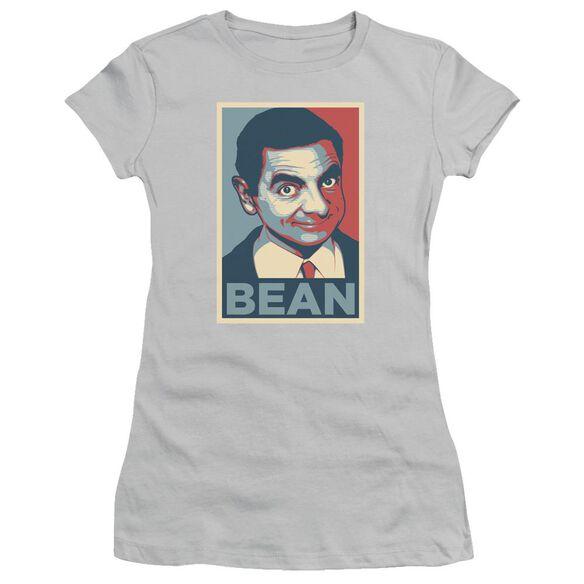 Mr Bean Poster Short Sleeve Junior Sheer T-Shirt