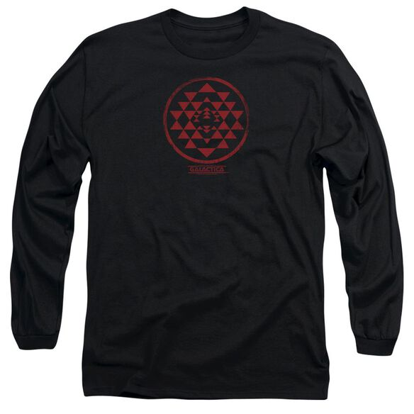 Bsg Red Squadron Patch Long Sleeve Adult T-Shirt