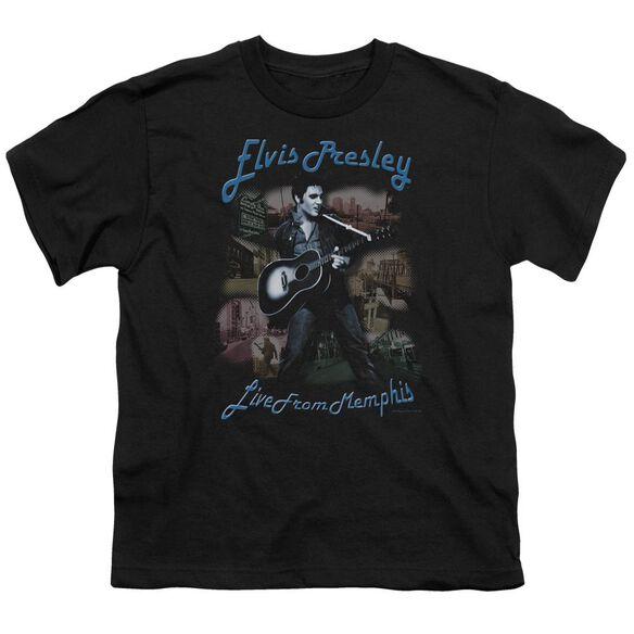 Elvis Memphis Short Sleeve Youth T-Shirt