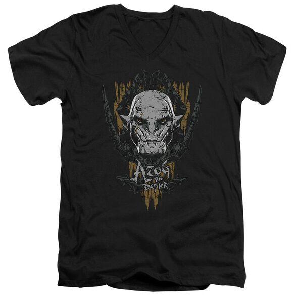 Hobbit Azog Short Sleeve Adult V Neck T-Shirt