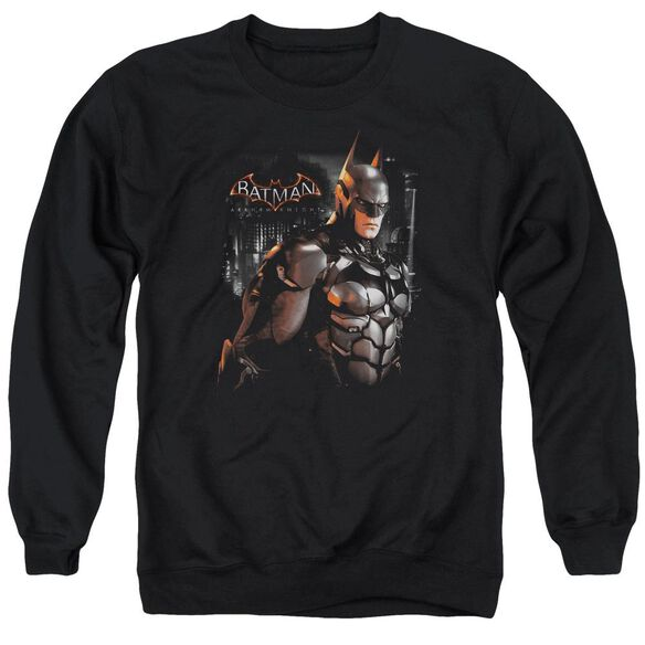 Batman Arkham Knight Dark Knight Adult Crewneck Sweatshirt