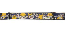 Looney Tunes Bugs Bunny Stars Mesh Belt